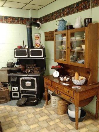 Sapulpa, Оклахома: 1880s Kitchen