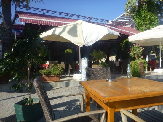 Anil Hotel: Outside Seating area