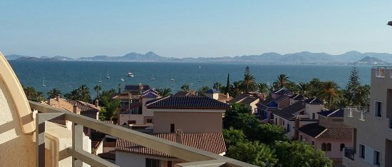 Hotel Costa Narejos: View from balcony