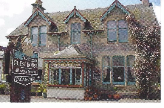 Cairngorm Guest House: כרטיס ביקור של הפנסיון