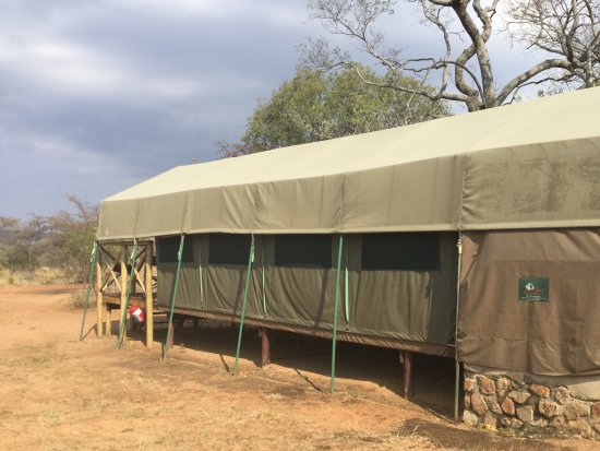 Mabula Private Game Reserve, Zuid-Afrika: A typical tent