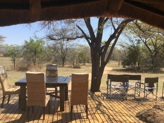 Mabula Private Game Reserve, Zuid-Afrika: The main deck