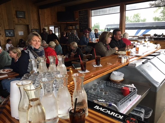 Moose, WY: le fameux bar