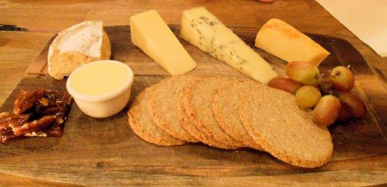 Lockerbie, UK: Cheese Board