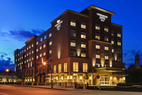 Evening Hotel Exterior Picture Of Homewood Suites By Hilton Worcester Worcester Tripadvisor
