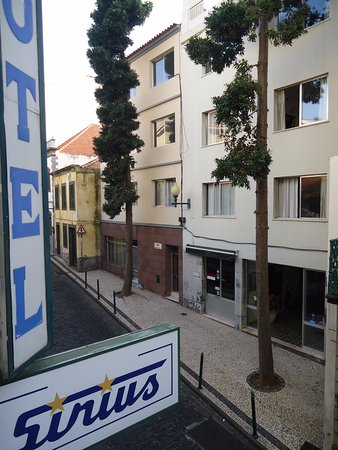 Hotel Sirius: Widok z pokoju na ulicę