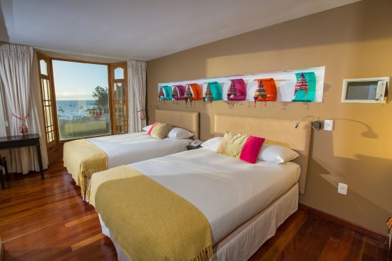 Hotel Rosario Lago Titicaca: Twin Room with view Lake