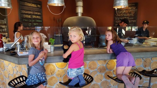 Kimberley, Canada: child-friendly pizza bar