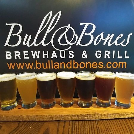 Bull & Bones Brewhaus & Grill: Our updated look and focus on the quality of our beer!
