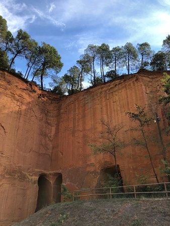 Gargas, Frankreich: Besuch der Mines de Bruoix