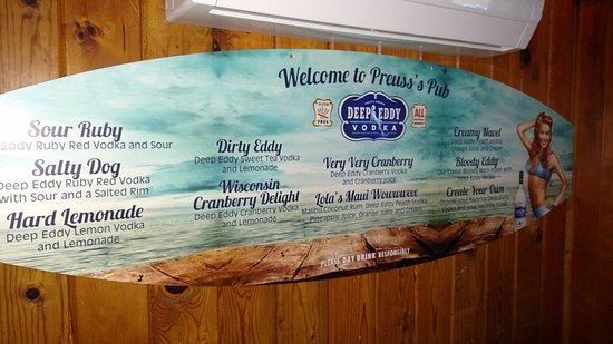 Preuss's Pub - Arbor Vitae - Woodruff - Minocqua - Hwy 51 & Hwy 70 - Little Musky Lake