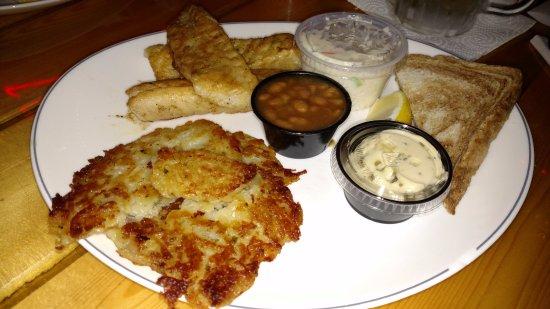 Preuss's Pub - Arbor Vitae - Woodruff - Minocqua - Hwy 51 - Pan Fried Fish & Walleye - Musky Lak