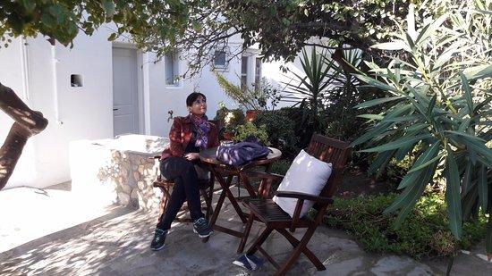 Hotel Matina: no jardim do hotel