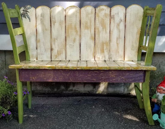 Pittsfield, MA: Chair bench