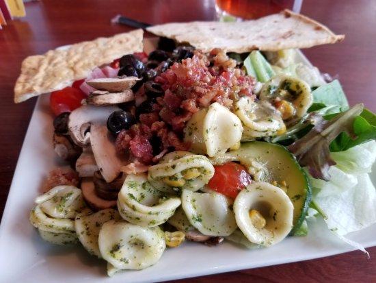 Pooler, Géorgie : from the salad bar.