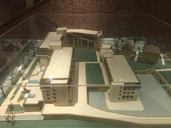 Leonardo Hotel Weimar: Model vom Hotel