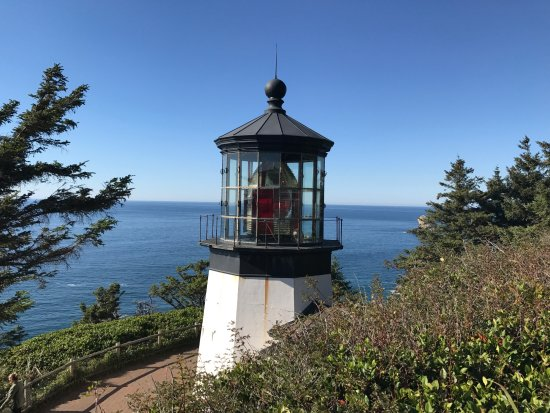 Tillamook, Oregon: Lighthouse on Cape Meares
