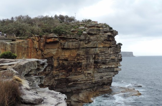 Scenic cliffs at The Gap, Watson's Bay