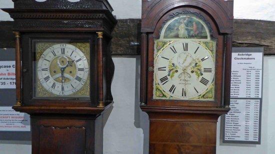 Axbridge, UK: Long Case Clocks
