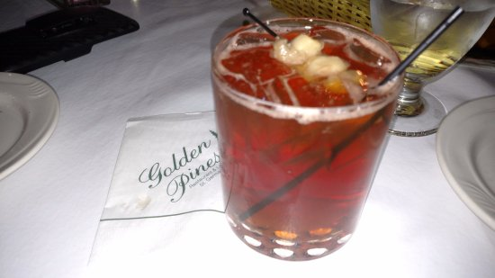 Saint Germain, วิสคอนซิน: Golden Pines - St Germain - Classic Old Fashioned Wisconsin Supper Club - Brandy Old Fashiioned