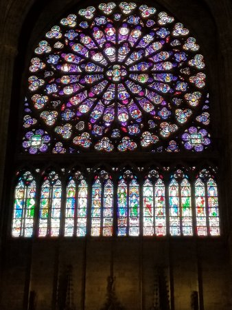 Notre Dame Cathedral Famous Stained Glass Windows