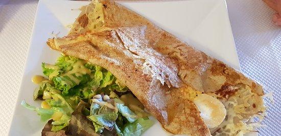 Auterive, France: Crêpe chevrette musclée