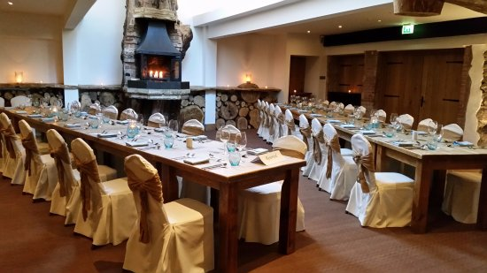 Oxwich, UK: Private dining room / wedding ceremony room