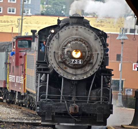 Cumberland, MD: 734 coming back from Frostburg Md