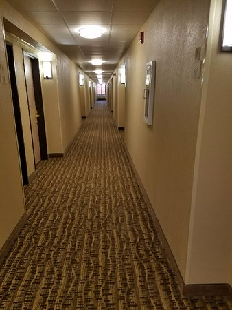 Bethany, MO: second floor hallway