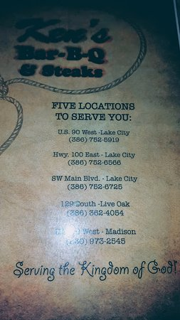 Lake City, FL: Ken's Bar-B-Que