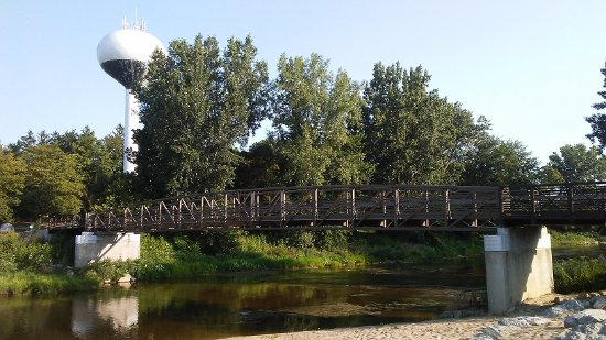 Chesaning Walking Bridge
