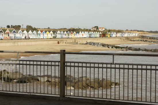 Southwold, UK: View from the pier