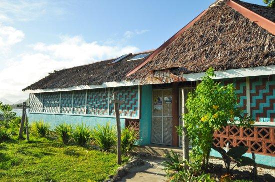 Остров Нгуна, Вануату: traditional architechure