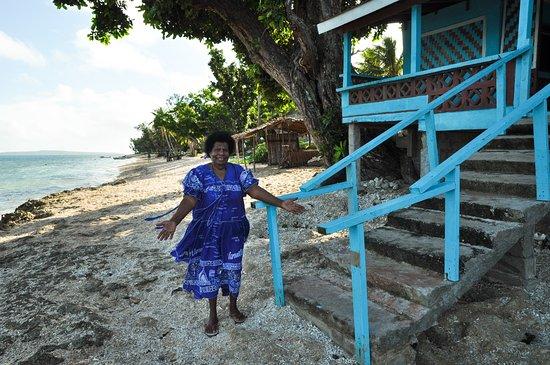 Остров Нгуна, Вануату: meet your hostess, Leiman