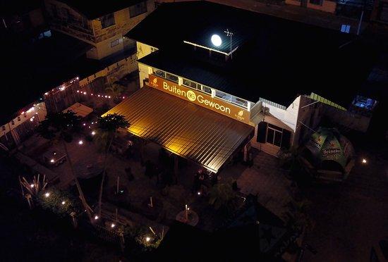 Paramaribo District, Surinam: Deze foto is genomen met een drone van hoezoSu.