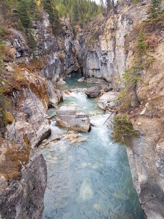 Kootenay National Park, Canada: Near the bottom