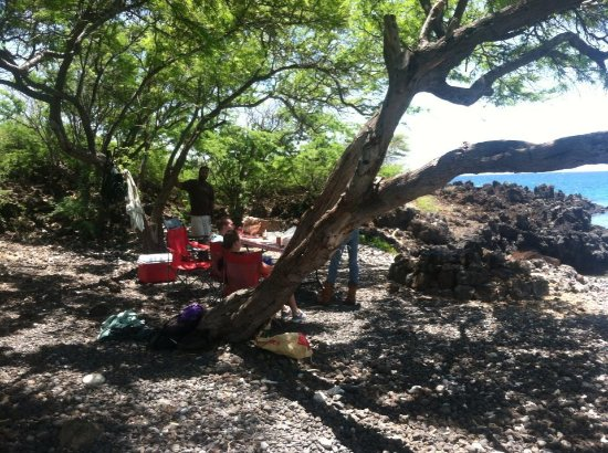 Kula, HI: Beach Picnic BBQ cooked right on beach!!