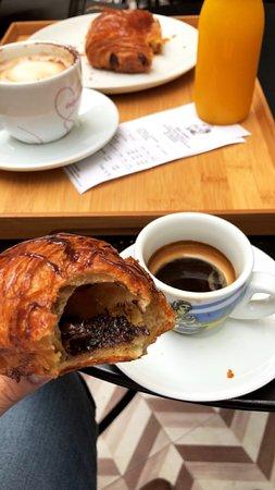 Baluard: Chocolate Croissant