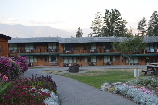 Fairmont Hot Springs, Kanada: Hotel buildings