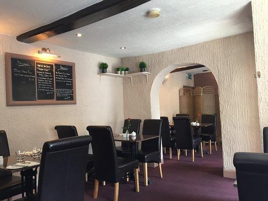 Leyburn, UK: Interior of restaurant