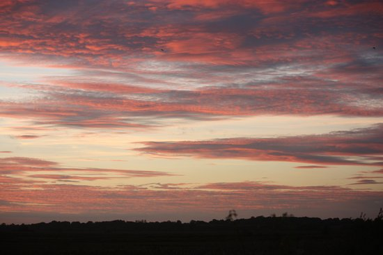 Carlton Colville, UK: Sky at Sunset