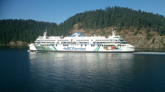 BC Ferries: Beautiful, affordable, sleek, clean.