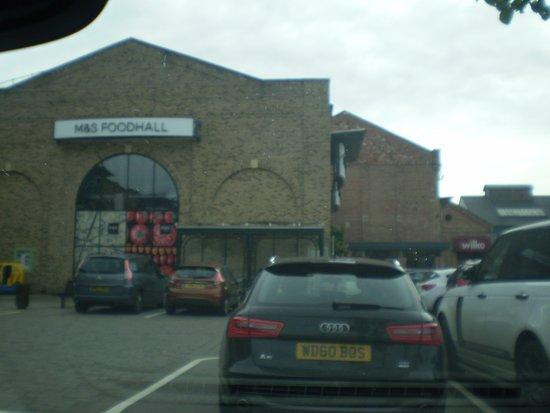 M&S Foodhall at Marshalls Yard In Gainsborough