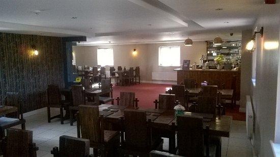 Essington, UK: the restauranr