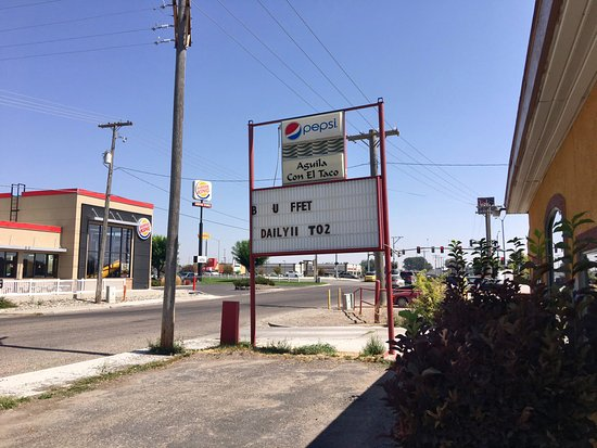 Burley, ID: This sign will lead you to disgusting food
