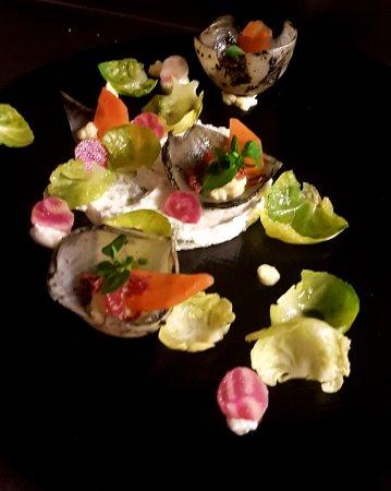 L'Escapade: Déclinaison de légumes en salade printanière