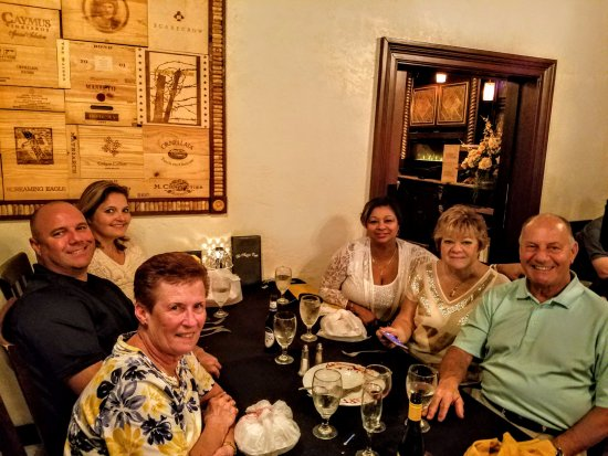 La Piazza Cafe : Family reunion and birthday celebration Jan. 2017