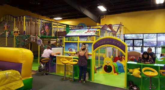 Warner Robins, GA: New play gym and toddler area