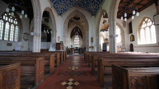 Axbridge, UK: A light, airy interior