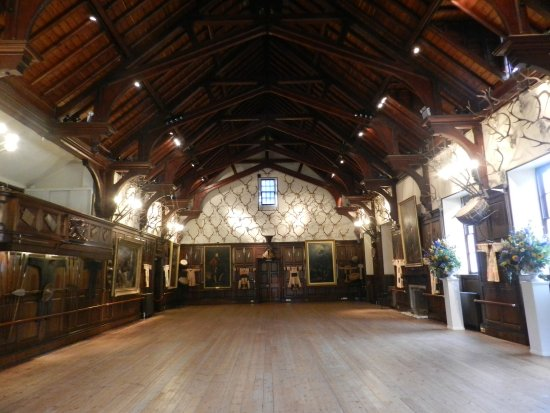 Blair Castle and Hercules Gardens: Ballroom Hall, Blair Castle